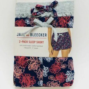 Jane and Bleecker Women's 2-Pack Sleep Shorts